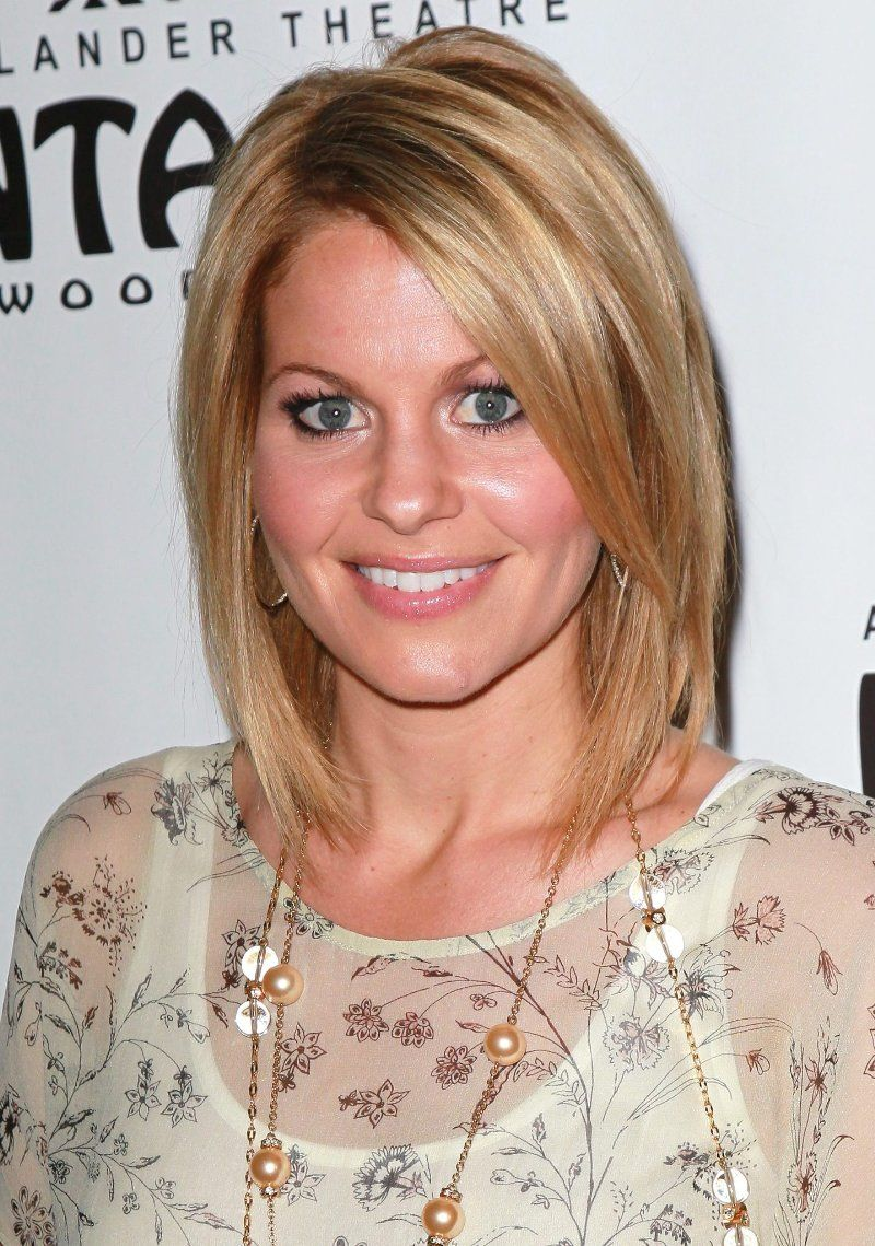 candace cameron burei love this cut and color