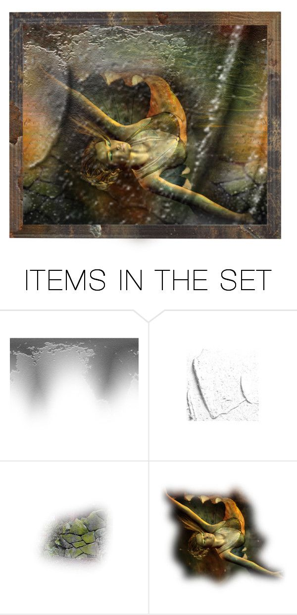 """Drowning"" by red223 ❤ liked on Polyvore featuring art"