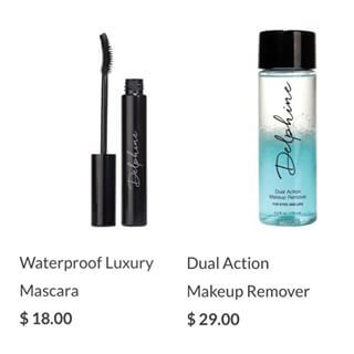 The perfect duo: waterproof mascara and heavy duty remover. #eyemakeup #mascara  http://butterfli.me/collections/eyes/products/waterproof-luxury-mascara