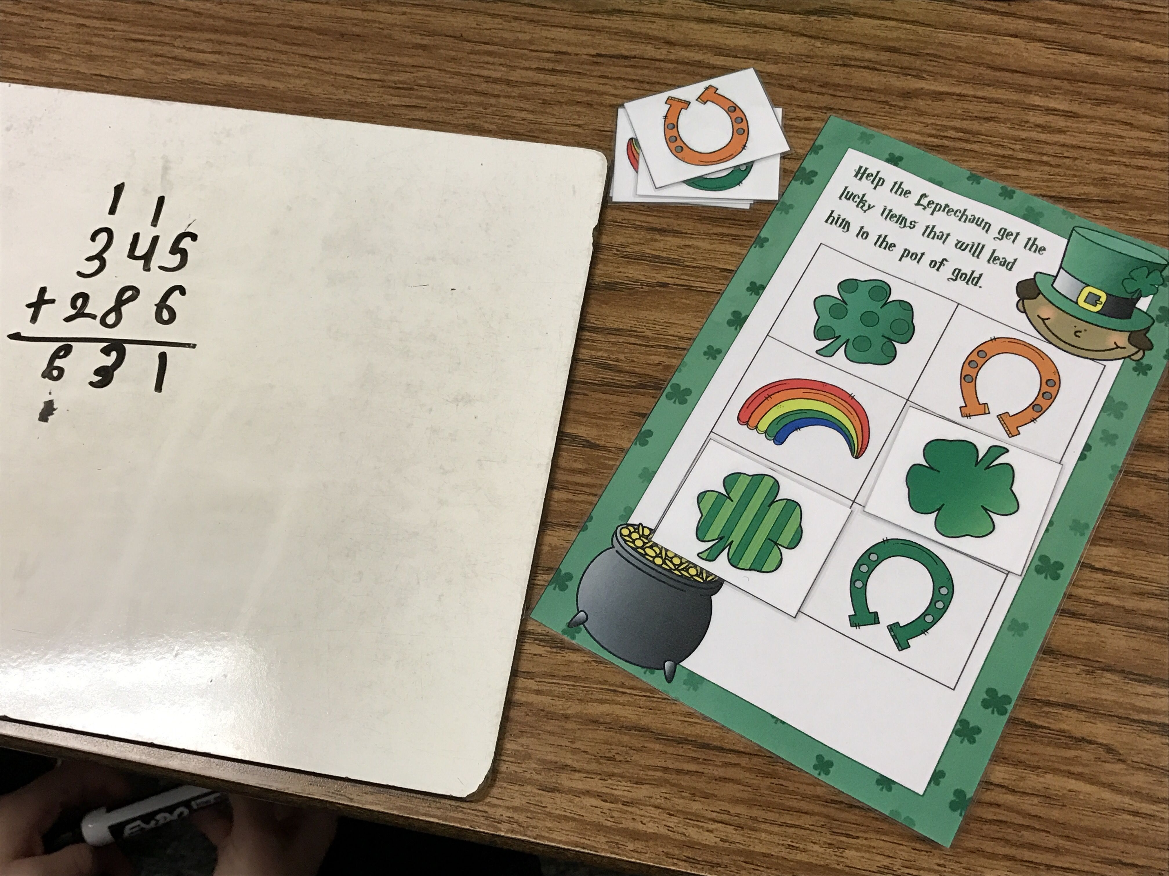 St Patrick S Day Game To Review Our Math