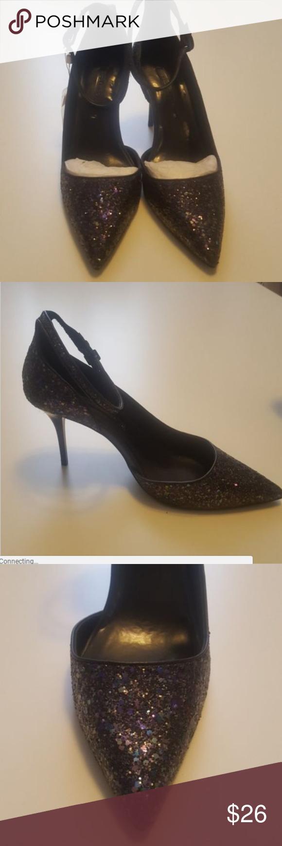 Purple Sequins Shoe Size 11 US EUR 42