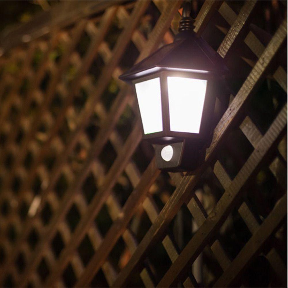 Solar Power LED Classic Outdoor Lighting Wall Mount Light LED Lamp ...