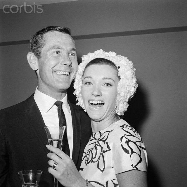 johnny carson and joanne copland famous wedding