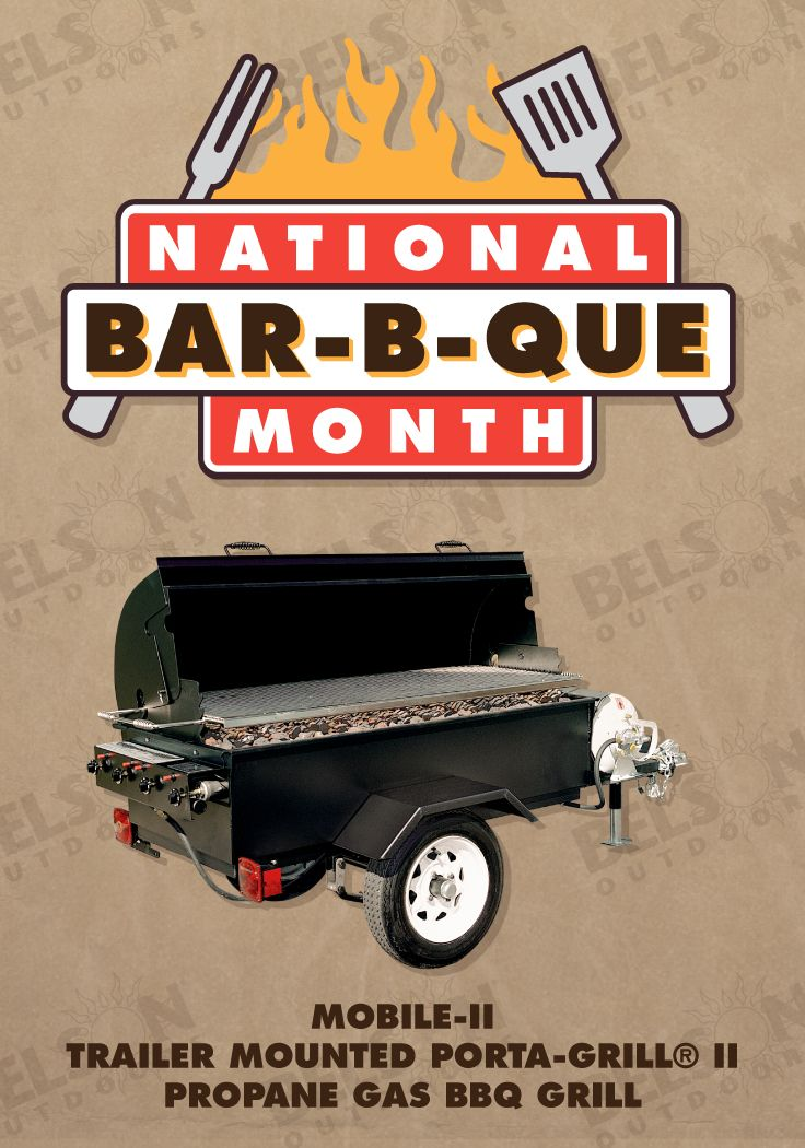 Hitch up your PORTA-GRILL and bring it with you! The trailer body is ...