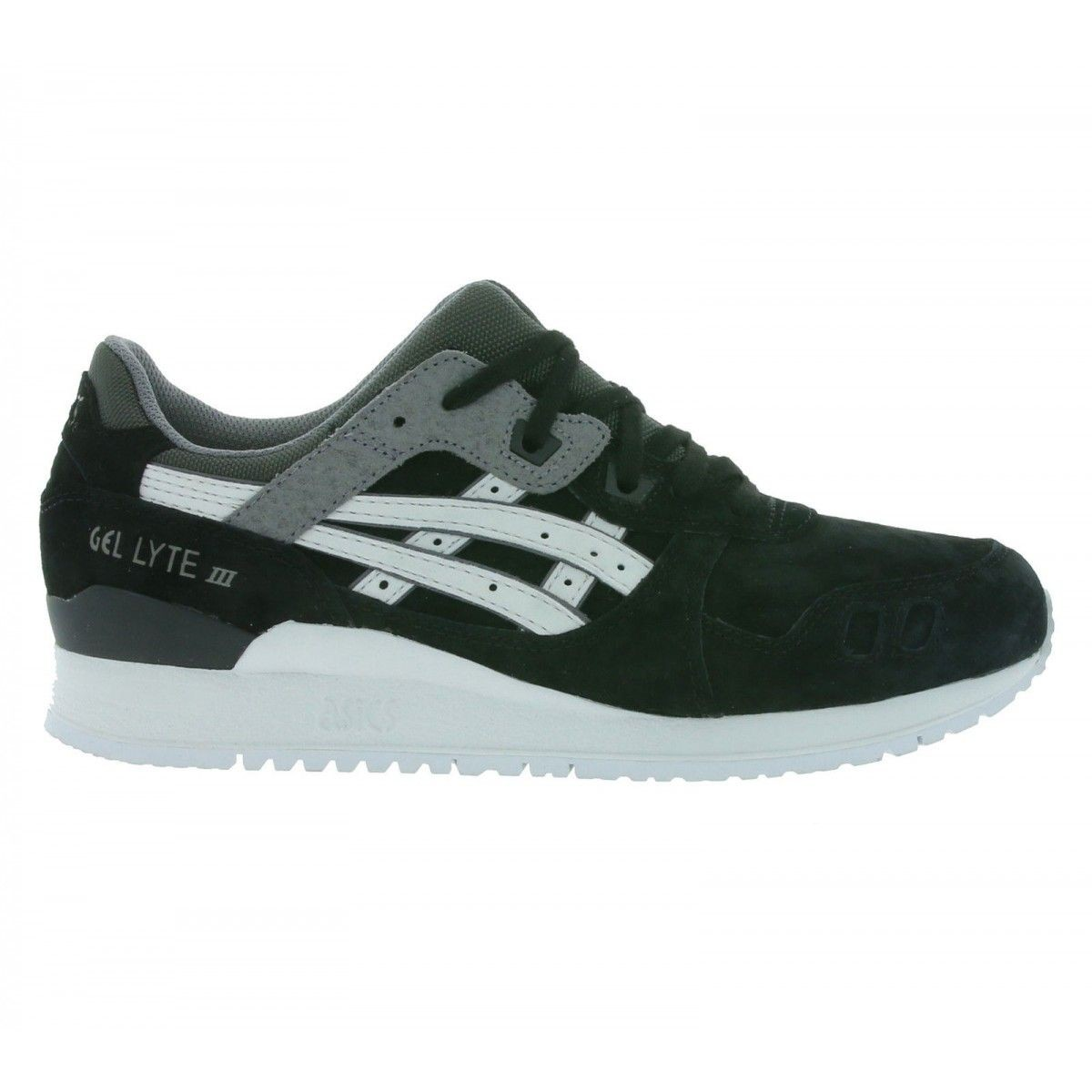 Baskets Gel Lyte Iii Blacksoft Grey Taille : 44 12