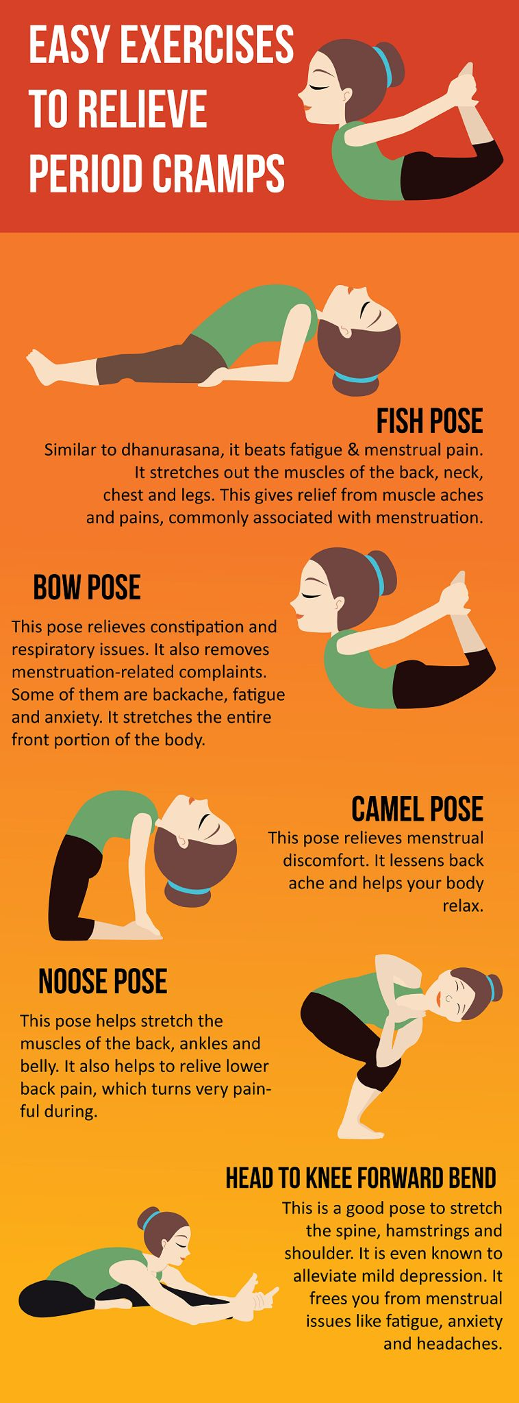 easy exercises to relieve period cramps periodcramps cramps exercises easy periods [ 758 x 2048 Pixel ]