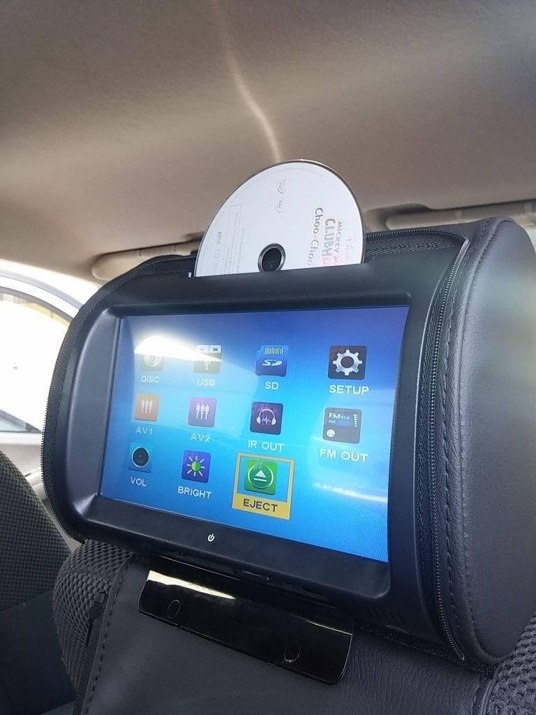 My Headrest Monitors Second Generation Nissan Xterra