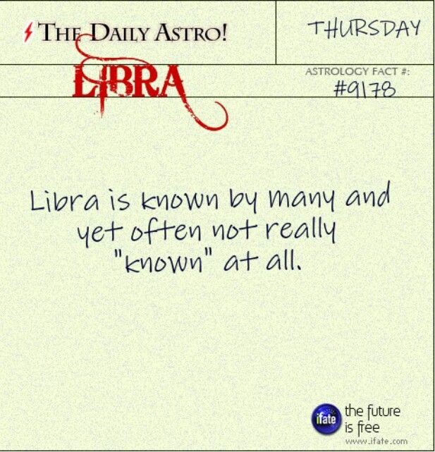 I'm not a believer in astrology, but THIS just rang so true