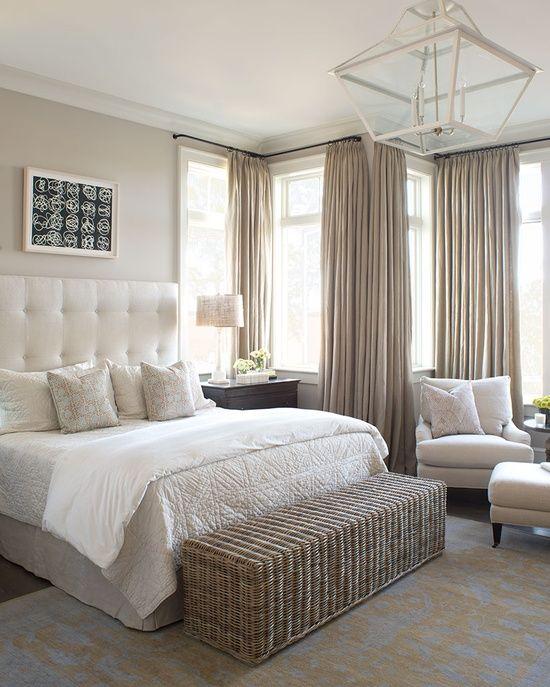Beautiful, Serene Beach Bedroom - Cute Decor