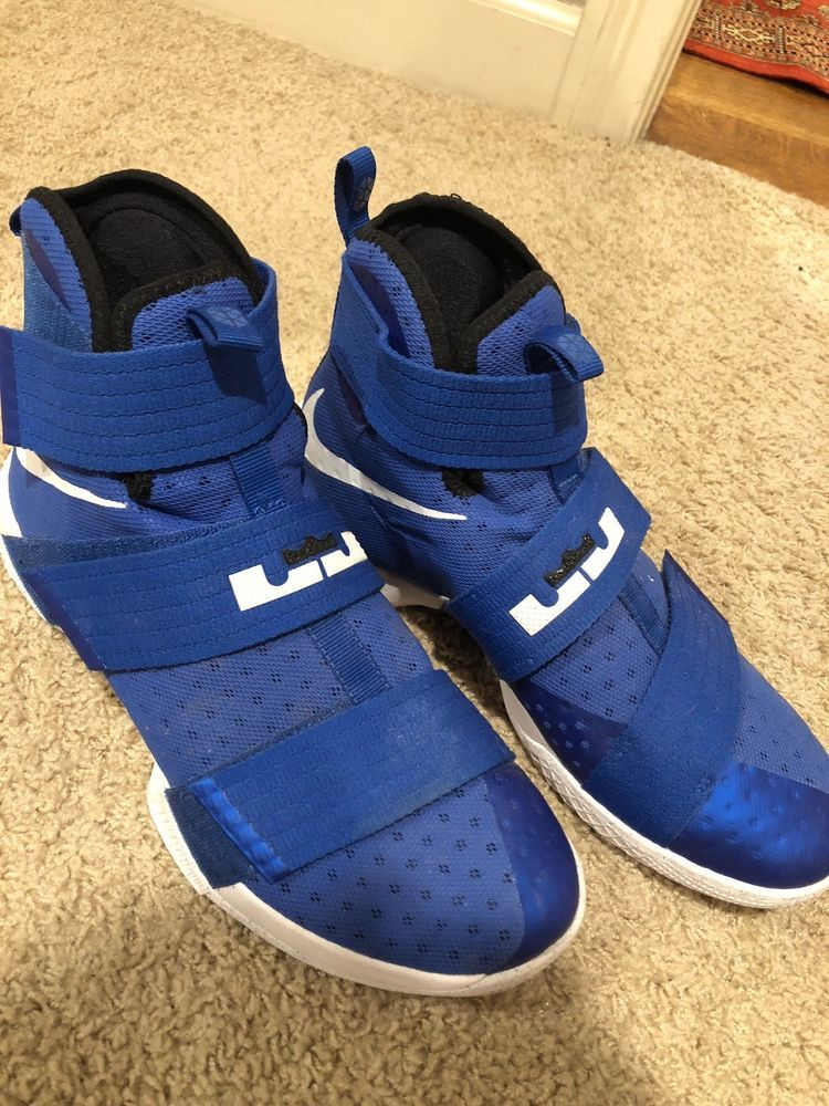 407249e0bb1f LeBron Soldier 10 size 11 used (blue)  fashion  clothing  shoes  accessories   mensshoes  athleticshoes (ebay link)