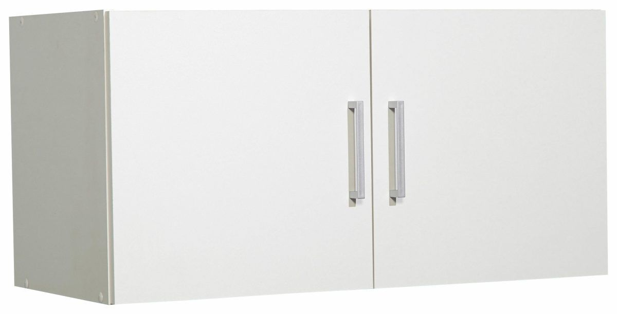 Aufsatz- Hängeschrank »Ems« weiß, pflegeleichte Oberfläche - hängeschrank wohnzimmer weiß