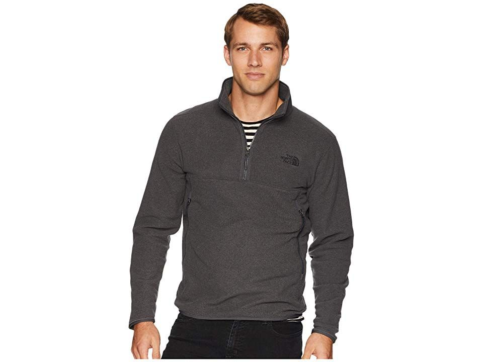 8b8742ad8 The North Face Glacier Alpine 1/4 Zip (TNF Dark Grey Heather) Men's ...