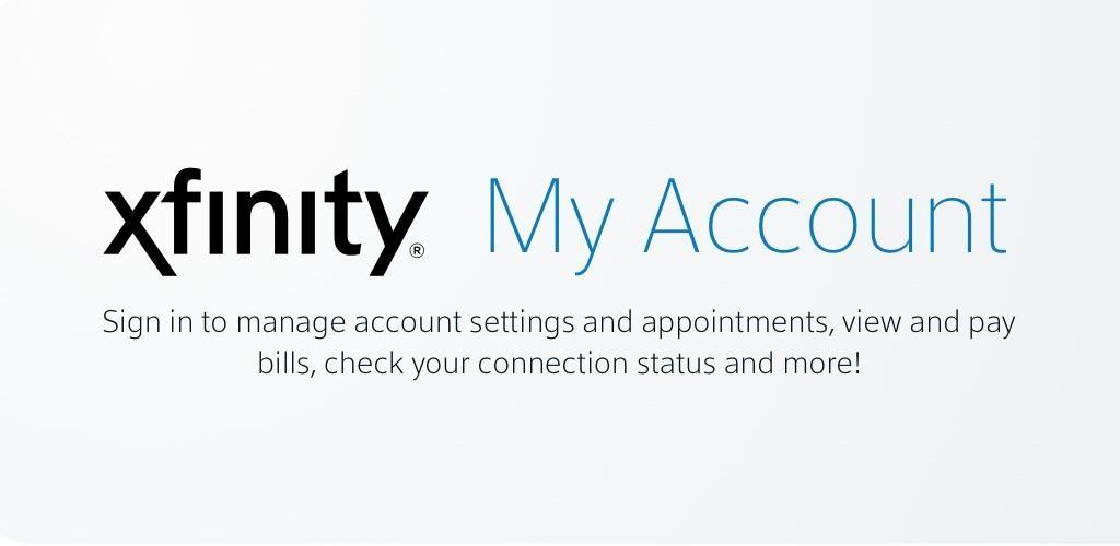 Xfinity My Account trong 2020