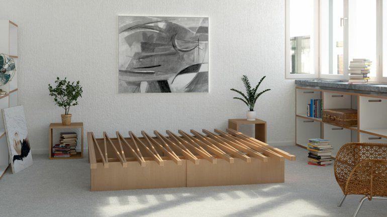 Designer Betten Günstig Tojo Bett Ziehharmonika Bett Tojo 6