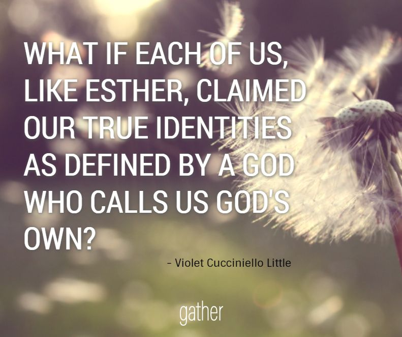"""Where is God calling you """"for just such a time as this"""