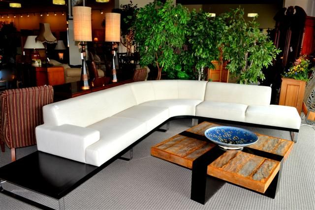 Della Robbia Sectional Found At Design With Consignment In Austin