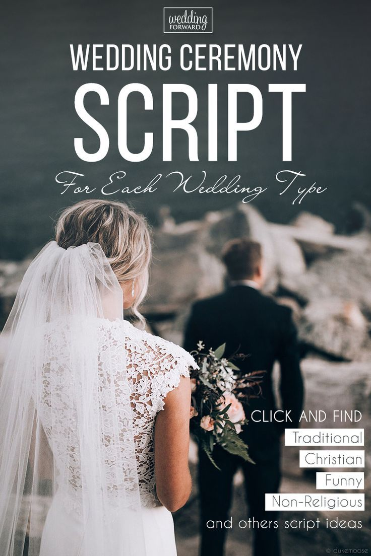 Wedding Ceremony Script For Each Wedding Type (List For