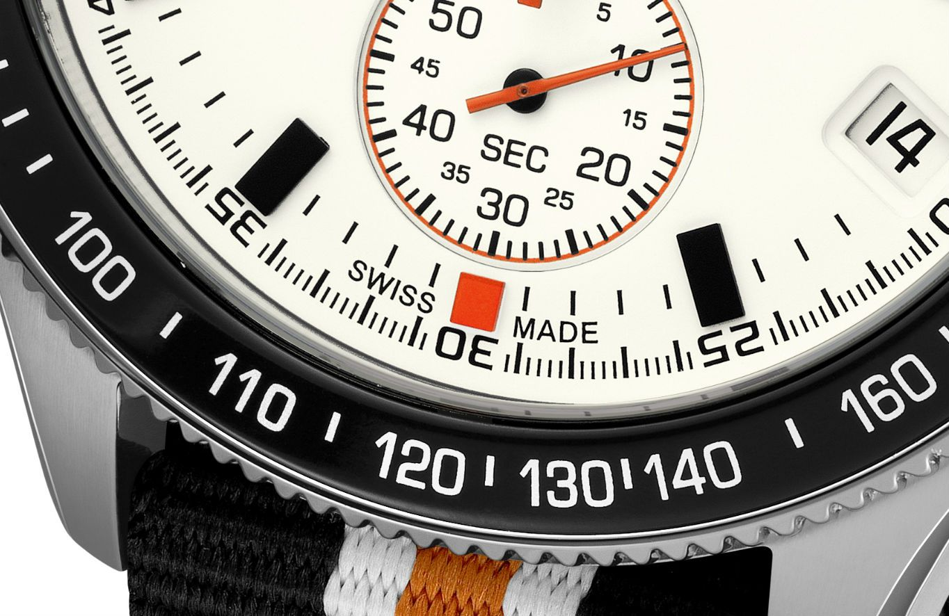 """Did you know that the Swiss law has regulations about the name """"Swiss made""""? A watch is considered Swiss if its movement is Swiss, its movement is cased up in Switzerland, and the manufacturer carries out the final inspection in Switzerland. Order your Swiss made chronograph at www.lemarqwatches.com."""