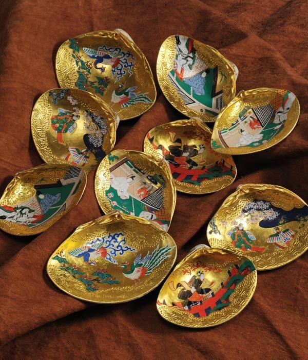 Kaiawase Or Clam Shell Matching Game Heian Era Fourth