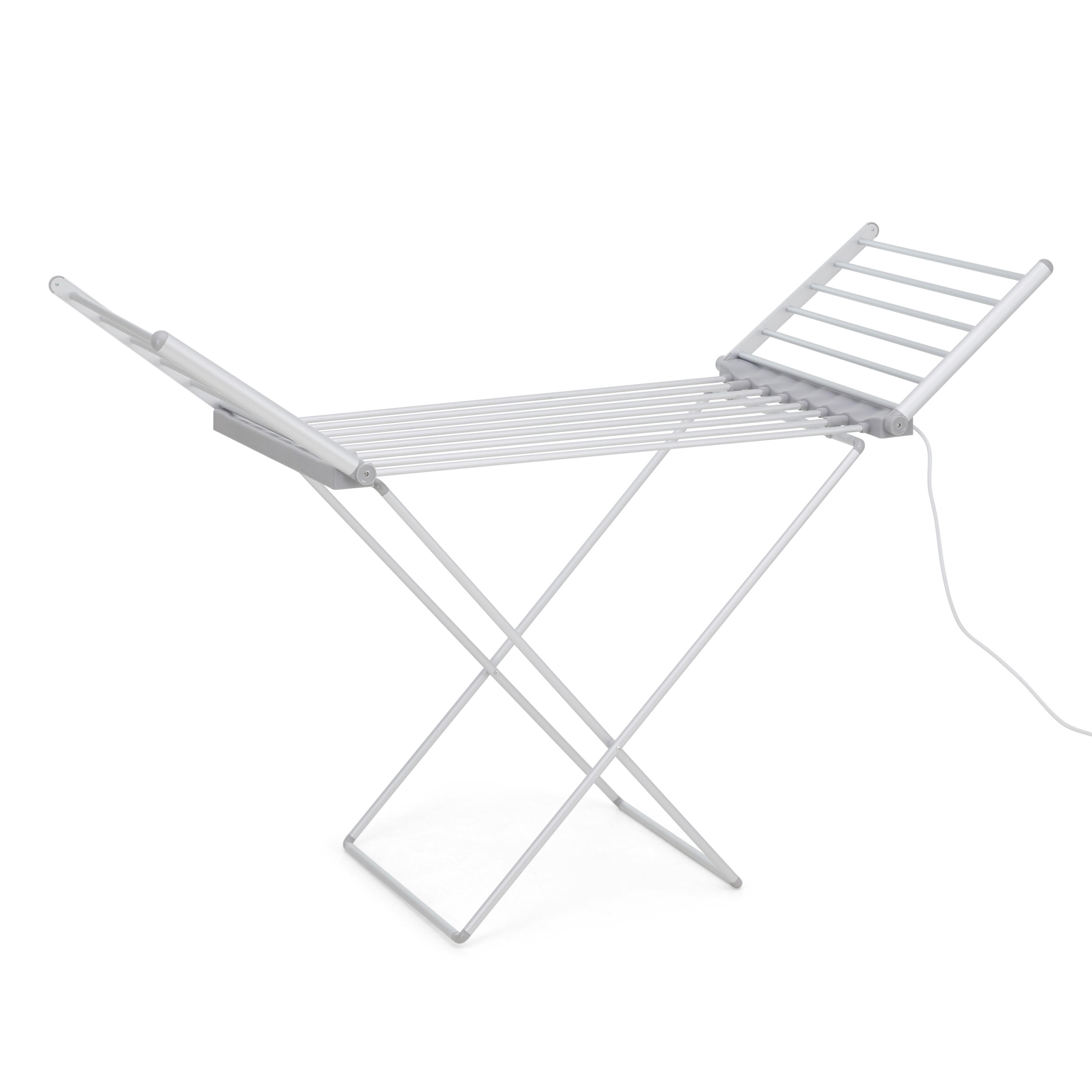 Dunelm Heated Airer With Wings Cleaning Wipes Wings Outdoor Chairs