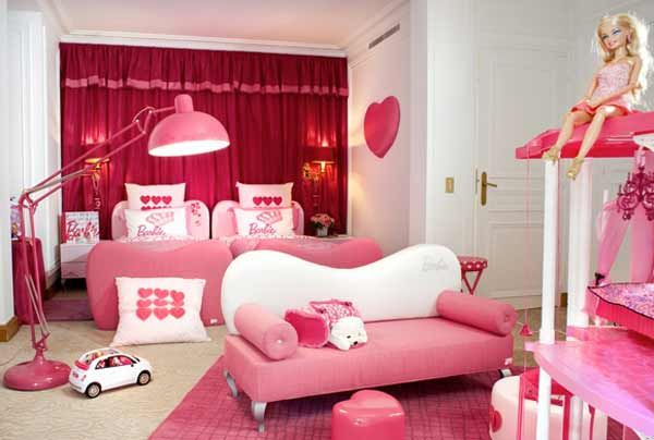 Perfect Charming Barbie Theme Bedroom For Girls   Talking About Girls Bedroom  Decorating Ideas, There Are Some Important Things That Should Be Considered.