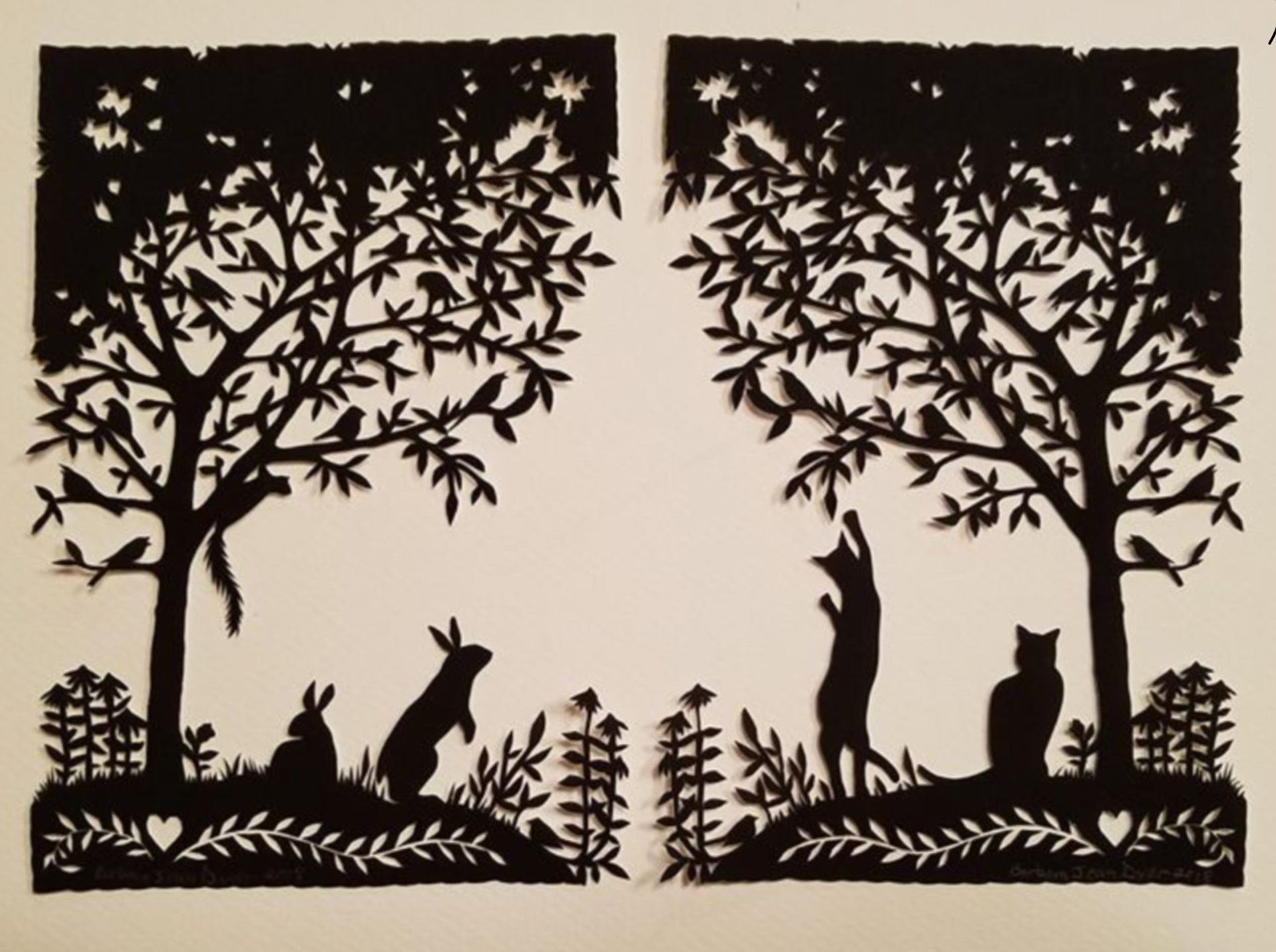 Pin by Charlene Underhill on Animal Silhouettes