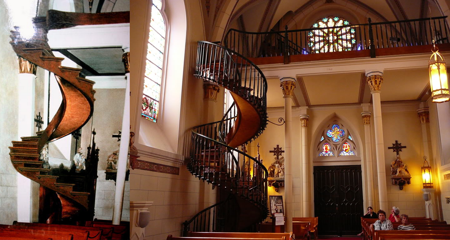 Best Loretto Chapel Is Famous For Its Miraculous Staircase 400 x 300