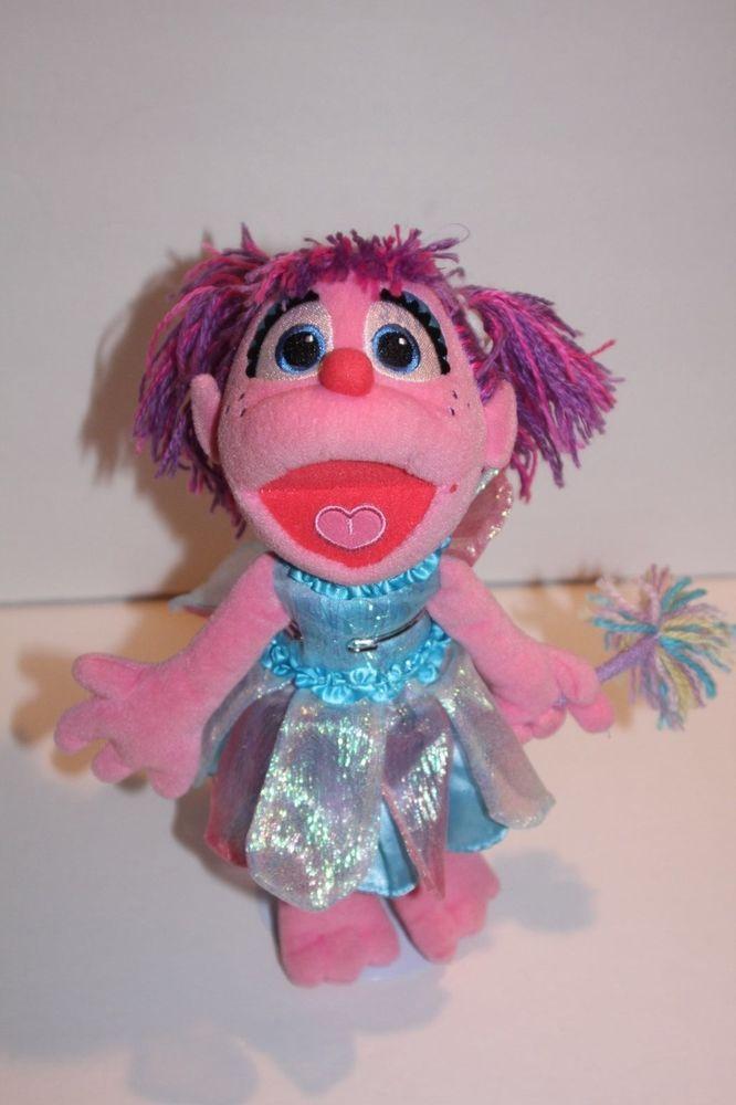 Sesame Street Abby Cadabby 12 Fairy Plush Doll By Gund