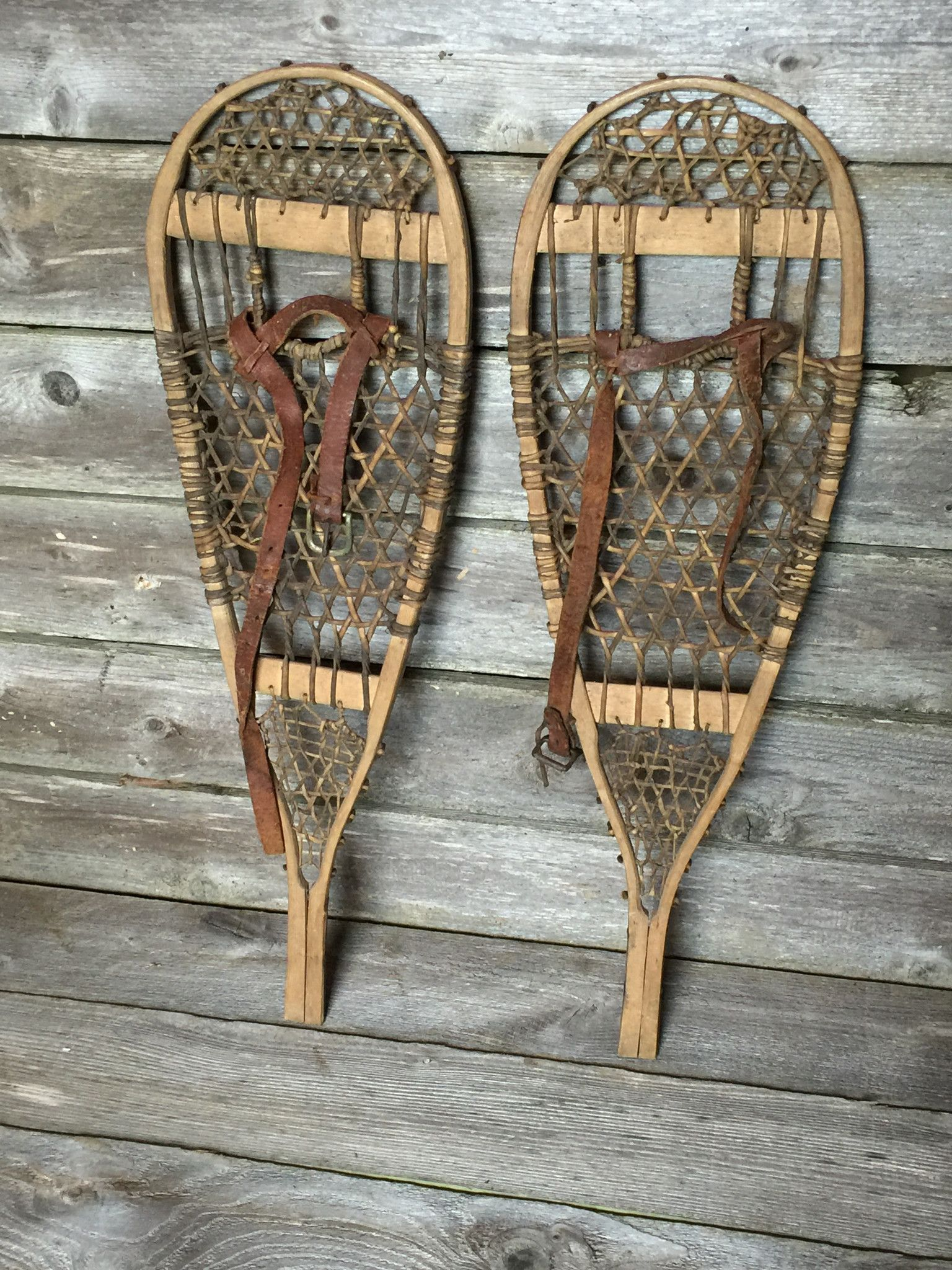 Image result for vintage snowshoes