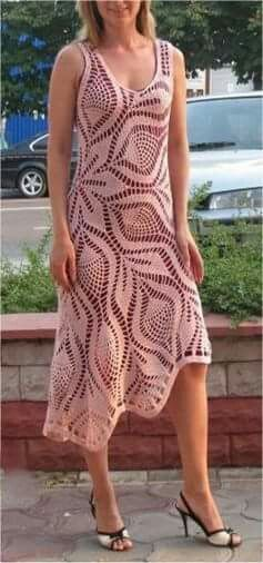 The Pineapple Tablecloth Dress