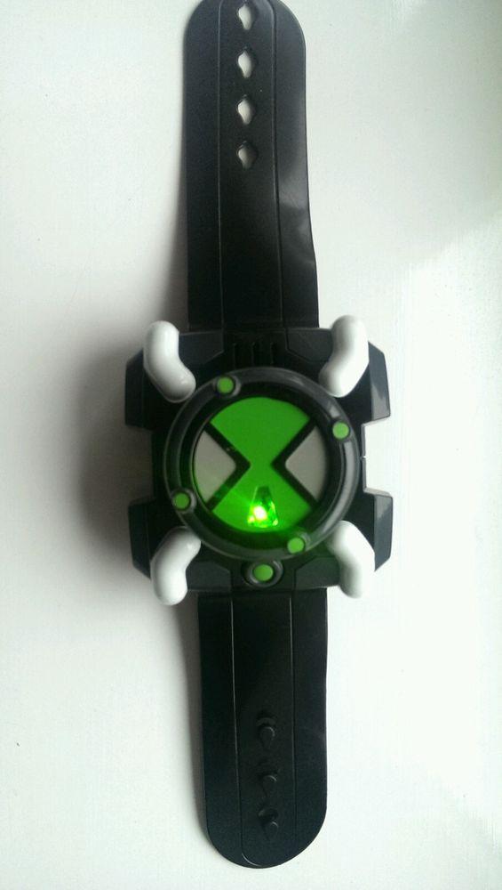 Ben 10 Omnitrix Fx Relógio De Pulso Sons Luzes exibe caracteres-Bandai 2006   36728f067f11c