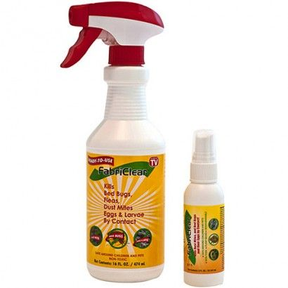 As Seen On Tv Fabriclear 2lb Kills Bed Bugs Dust Mites Eggs And