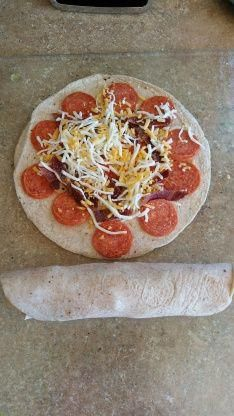 Photo of Air Fried Pepperoni Wraps Recipe  – Food.com