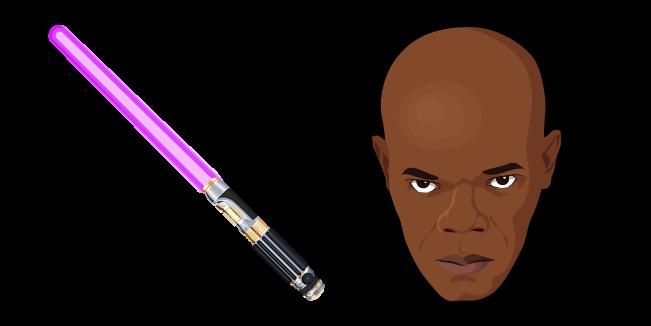 Star Wars Mace Windu Lightsaber Mace Windu Lightsaber Mace Windu Lightsaber