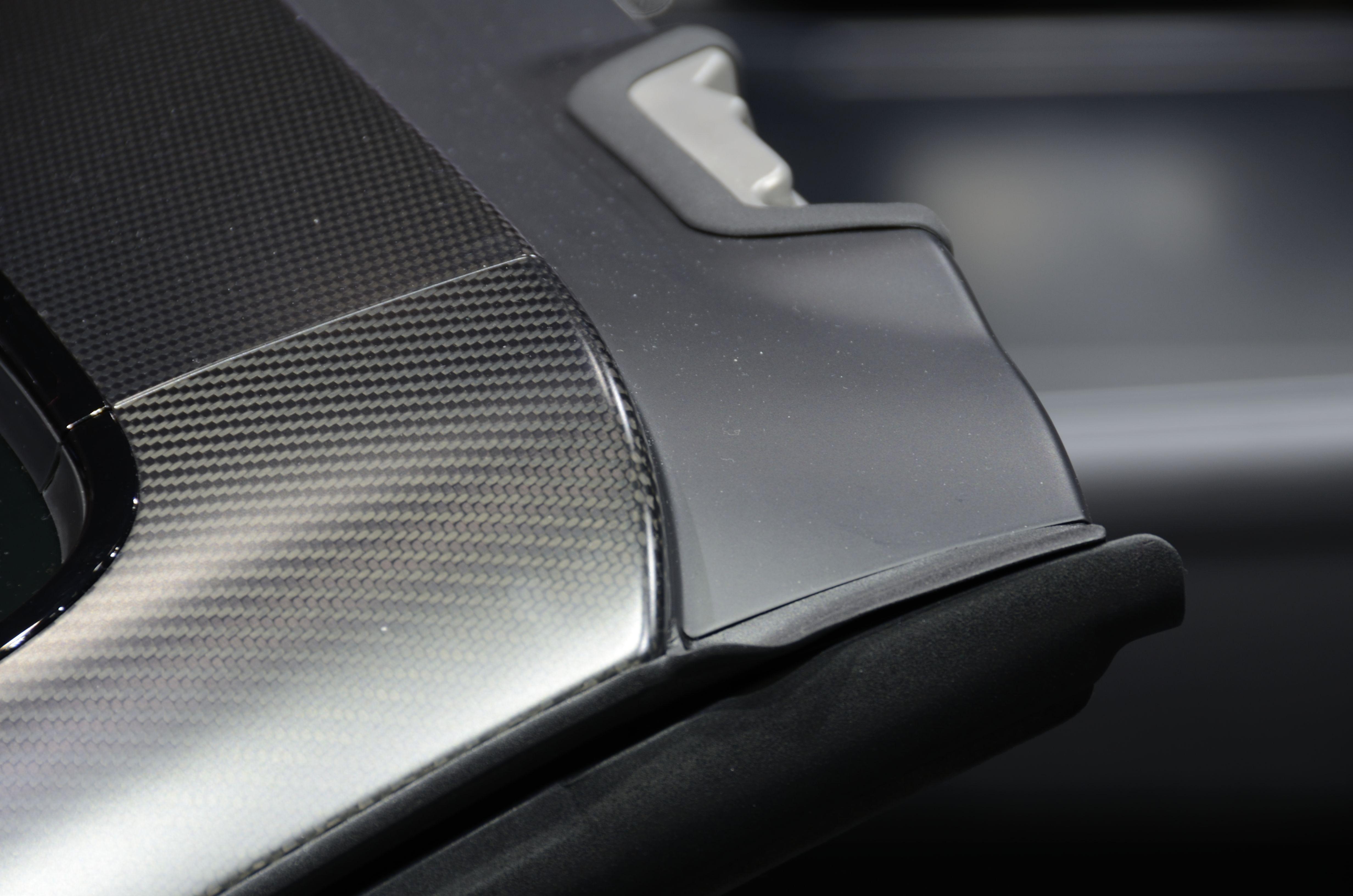 Plaque carbone Audi R8