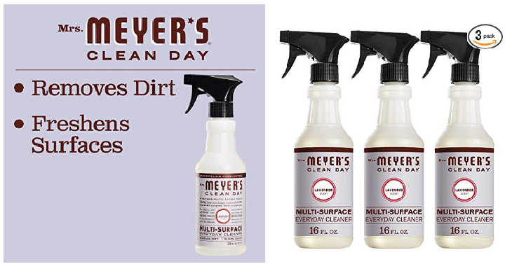 Mrs Meyer S Multi Surface Everyday Cleaner Lavender Pack Of 3