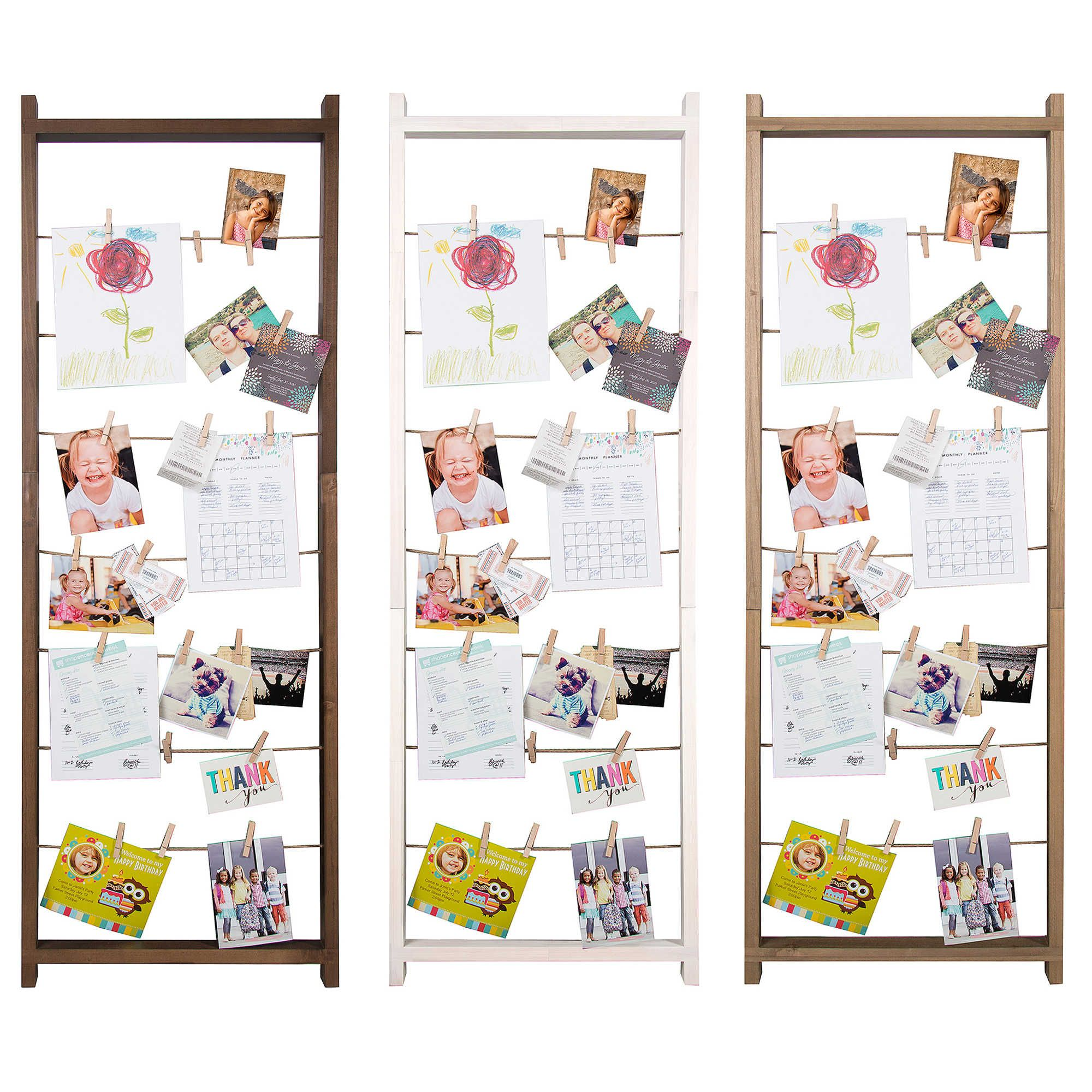 Burnes Of Boston 5 Foot Collage Ladder Frame With Clips