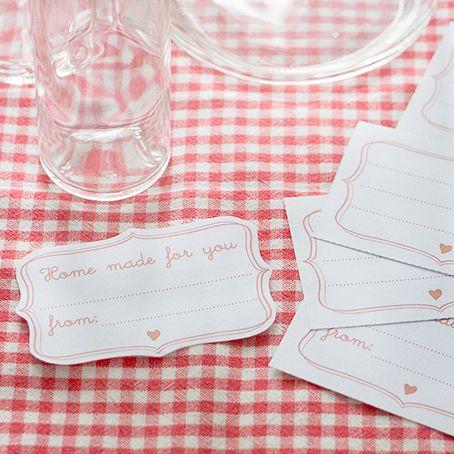 etiketten f r marmeladengl ser co printables pinterest etiketten kostenlos marmeladen. Black Bedroom Furniture Sets. Home Design Ideas