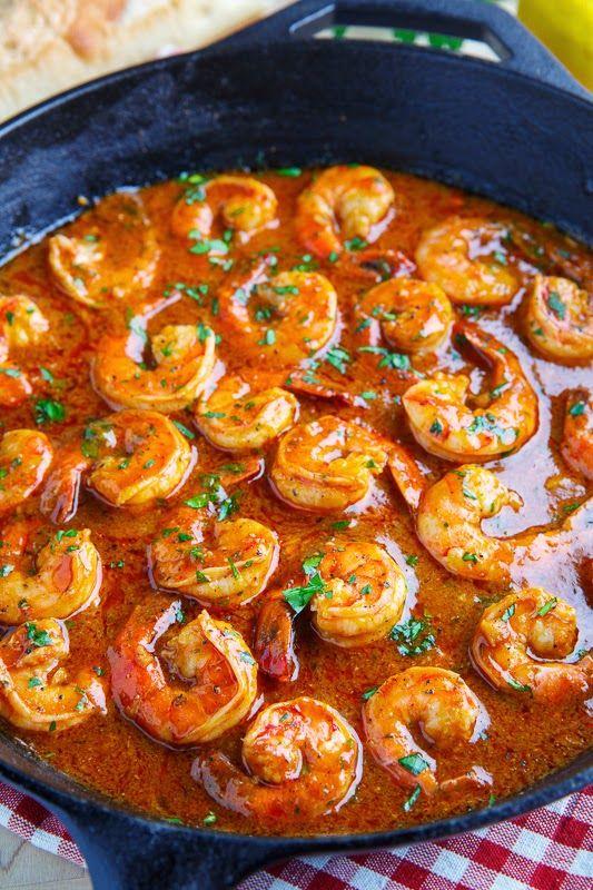 New orleans bbq shrimp receta mariscos recetas y comida new orleans bbq shrimp forumfinder Image collections