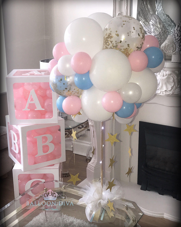 Baby Shower Balloon Ideas Babyshower Babyshowerideas