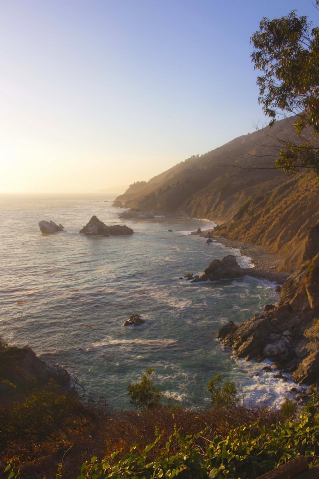 Sunset Over At Big Sur California 4000x6000 Oc Big Sur Big Sur California Natural Scenery