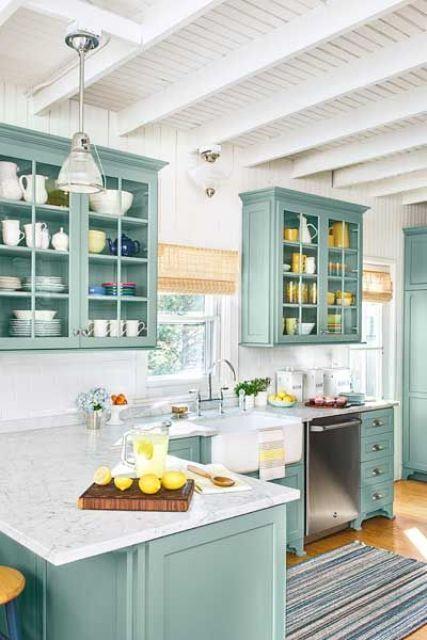 Cool And Classy Beach Style Kitchen Designs Kitchen design, Beach