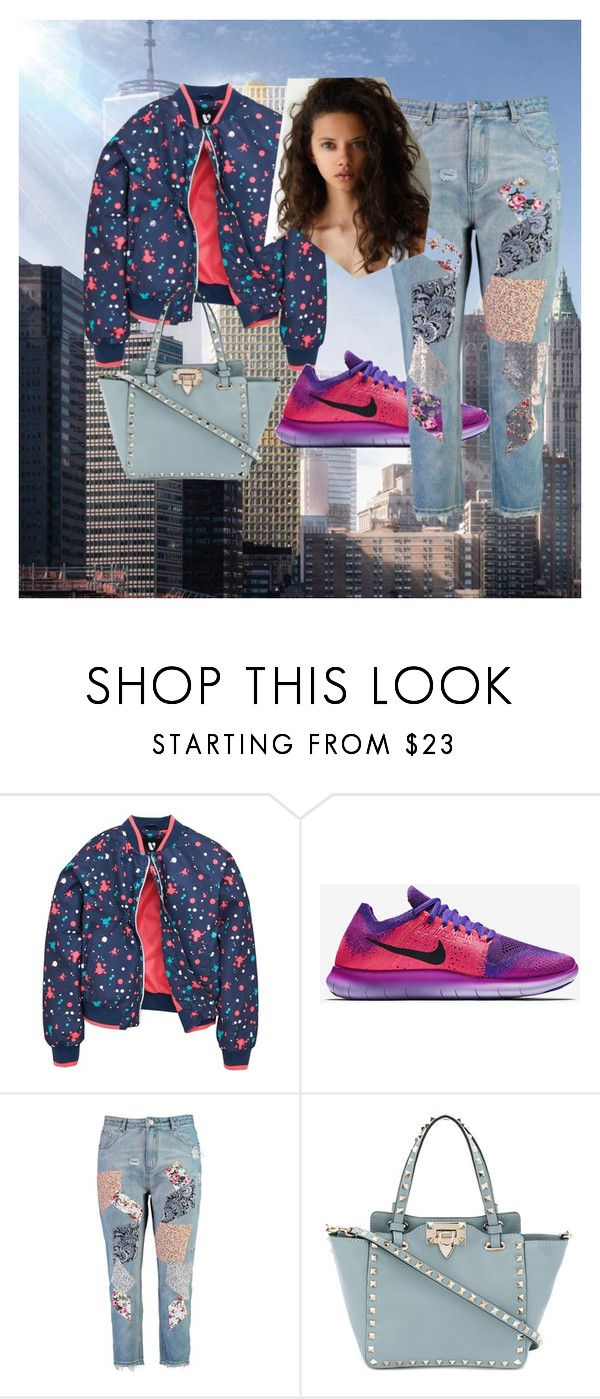 """""""dee"""" by bebi3504 on Polyvore featuring NIKE, Boohoo and Valentino"""