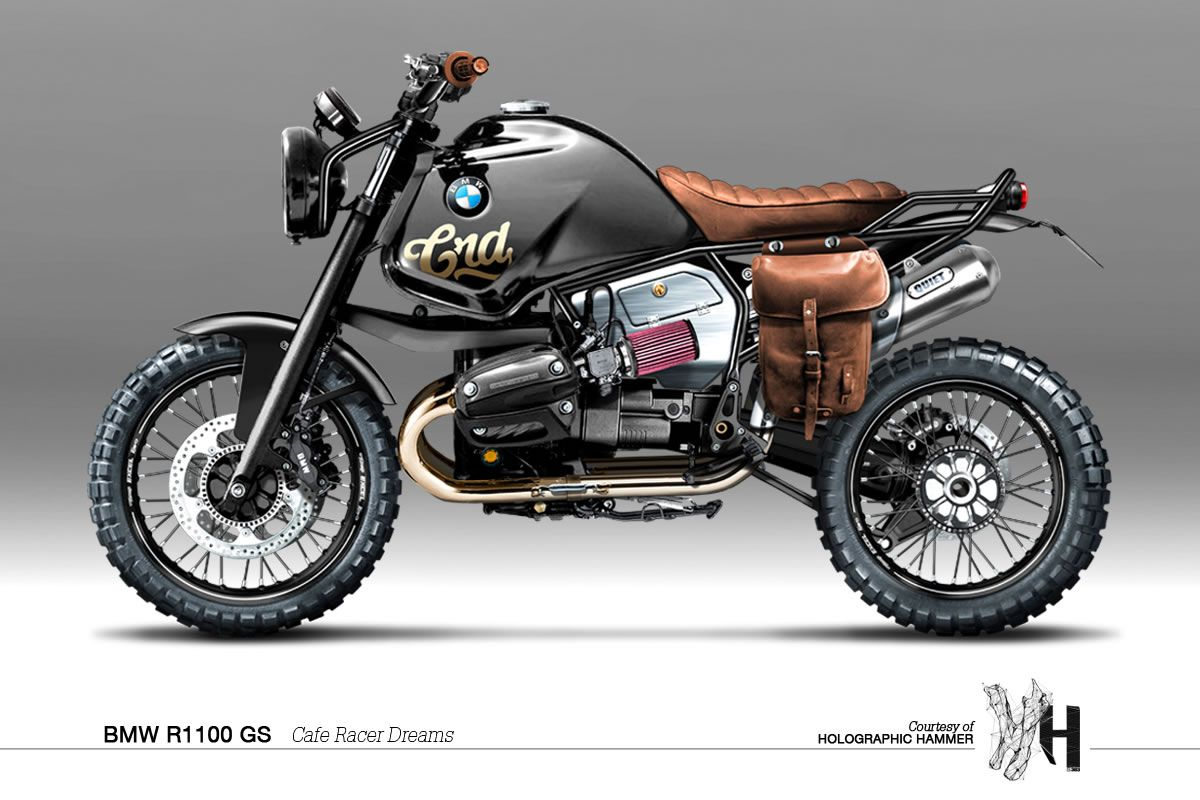 Visualizing Custom Motorcycles with Holographic Hammer - Moto Rivista Bmw  R1100gs, Holographic Hammer, Bmw