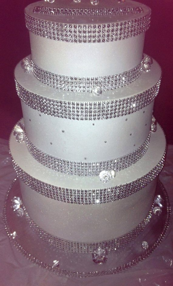 Three Tier Diamond Wedding Card Box Made to by PittsburghsBBB – Round Wedding Card Box