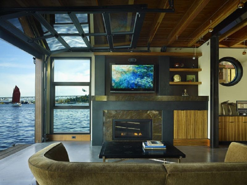 Man Cave Designs For Garage In Lake House ~ http ...
