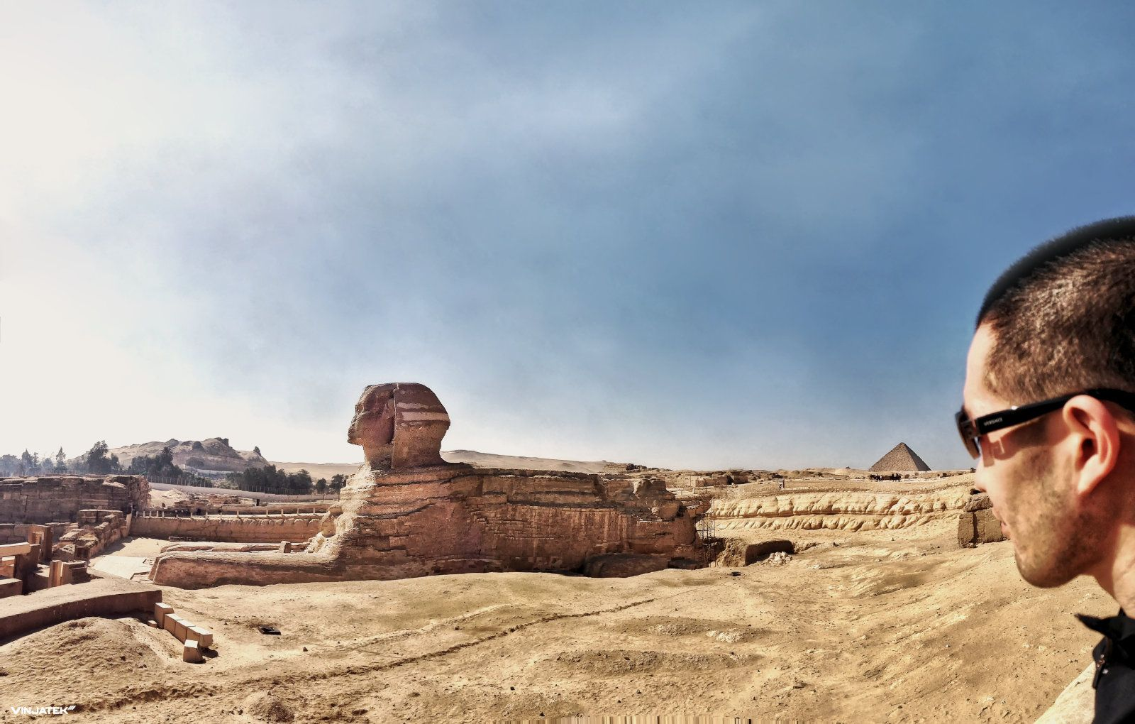 Photo The Great Sphinx of Giza Vinjatek Giza, Photo