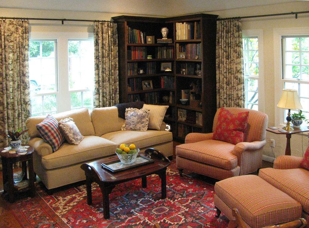 Klassiek Engels Interieur : Een haakse hoekkast kost weinig ruimte klassiek engels interieur