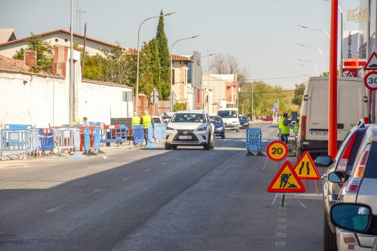 Nuevas Obras En La Avenida Virgen De Las Viñas De Tomelloso Papeleras Vino Virgen