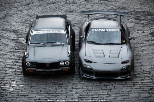 radracerblog:Mazda Rx-3 & Rx-7